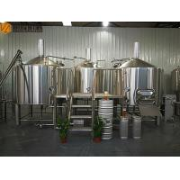 Buy cheap 2000 L Beer Brewing System Microbrewery Equipment With Steam Heating System from wholesalers