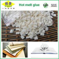 Cheap Pure Milk White Quick Drying Hot Melt Glue Adhesive Granule For Bookbinding wholesale