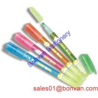 Cheap low price highlighter for office recording and markers from made in china wholesale