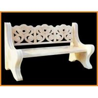 Cheap Pure Handmade Carving Marble Garden Ornaments With Outdoor Stone Bench wholesale