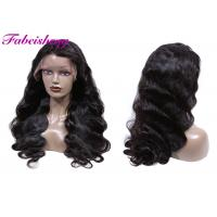 China Kinky Or Deep Curl Front Lace Wigs Double Weft Tangle Free No Chemical on sale