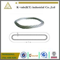 Cheap Endless Round Grommet Wire Rope Slings Braided Loop Sling with Galvanized wholesale