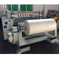 1000FQ low adhesive rubber tape slitting machine for max width 1000mm roll