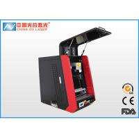 Cheap Enclosed Mini Fiber Laser Marking Machine for engrave small electronic parts wholesale