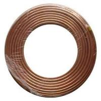 Cheap High temperature resistance single wall copper coated bundy steel tube for heat transfer equipment wholesale