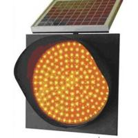 Lower Price Solar Energy Traffic Warning Yellow Lamp for Road Safety