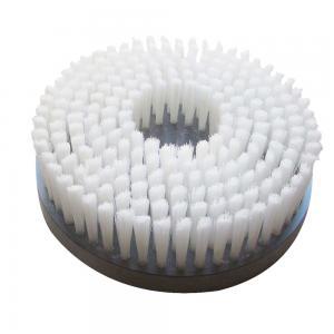 China Auto Scrubber Rotary Nylon Cleaning Disc Brushes Custom Size Round Shape on sale