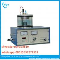 Cheap Lab DC/RF single target mini type magnetron sputtering coating machine wholesale