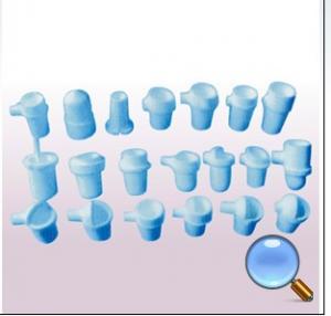 Cheap Vertical Quartz Crucible Dental Casting Device Low Thermal Expansion wholesale