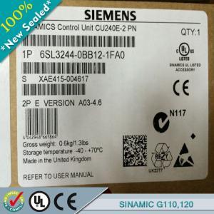 Cheap SIEMENS SINAMICSG110/G120/G120C 6SL3211-0KB11-2UB1/ 6SL32110KB112UB1 wholesale