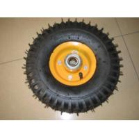 "Cheap 16"" rubber wheel 4.00-8 with lug pattern wholesale"