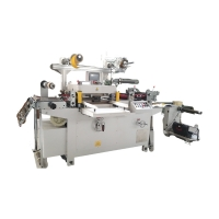 Buy cheap automatic foam tape roll to sheet die cutting machine flatbed cutting machine from wholesalers
