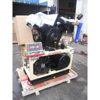 Cheap Stationary Lubricated 15KW Air Booster Compressor Piston Type 10bar - 30bar wholesale