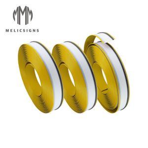 Cheap 50m Yellow Color Anodized Channelume Aluminum Strip For Channel Letter wholesale