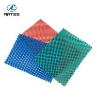 Cheap Anti - Fatigue Comfort Large Bathroom Mats , Wear Resistant Blue Bath Mat wholesale