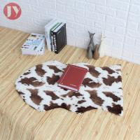 Cheap Animal Skin Machine Washable Faux Fur Rug Great For Any Sexy Room Easy Carefree wholesale