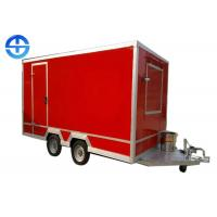 Cheap ISO 30km/H 4M Food Industry Machines Mobile Food Cart wholesale