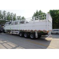 Cheap Bulk Cargo Transport Flat Pack Trailers With Front Wall  - CIMC VEHIClE wholesale