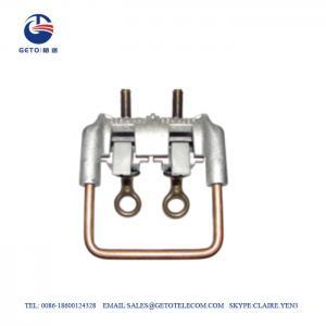 Cheap 35sqm Aluminum ISO 9001 Stirrups Bronze Connectors wholesale