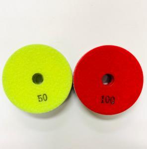 Cheap Tile Ceramic Porcelain 100mm 100 Grit Diamond Polishing Pad wholesale