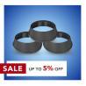 Buy cheap Black Neon Signs 20mm Width Aluminium Plastic Trim Cap from wholesalers