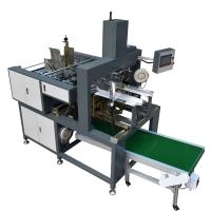 Cheap 220V 50HZ 60pcs/Min Corner Pasting Machine For Rigid Box wholesale