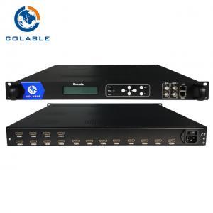 Cheap 2 ASI Inputs H 264 IPTV Encoder , HDMI IPTV Encoder IPTV Headend Device wholesale