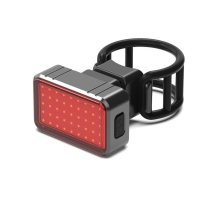 Cheap BK820 70 Lumens USB Rechargeable Bicycle Back Light wholesale