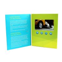 "Cheap Rechargeable Battery Full colors digital video brochure for gift , 1.8 - 7"" wholesale"