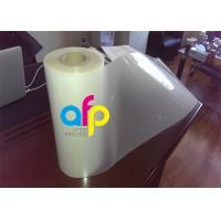 Cheap Matte Thermal Lamination Film , Multiple Extrusion Transparent Roll Laminating Film wholesale