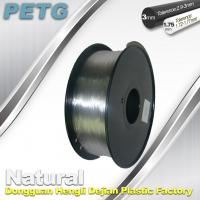 Cheap 1.75 / 3.0 mm PETG Filament 3D Printing Transparent Materials  1.0KG wholesale