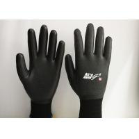 Cheap 15 Gauge Nylon Latex Coated Gloves Excellent Breathability EN388 Certificated wholesale