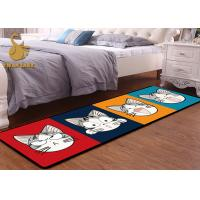 Cheap Contemporary Floor Rugs Digital Printed / Washable Living Room Rugs Modern Design wholesale