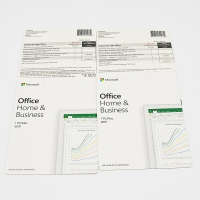 Cheap English Computer OS Software Office 2019 Home And Business Card wholesale