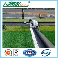 Buy cheap Long Curly Synthetic Artificial Lawn Grass Affordable Terrace Gardening 130Stitches / Meter from wholesalers
