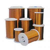 Buy cheap Custom Supper polyester Winding Enamelled Aluminium Round Wires for water pump from wholesalers