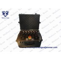 Cheap Multi - Band Vehicle Bomb Signal Jammer 20-3600MHz Machine Monitor Software Function wholesale