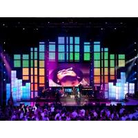 Cheap Full Color Electronic Led Curtain Display with 1024 Pixels / m2 Density P10 wholesale