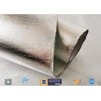 Cheap Industrial Hose Silver Coated Fabric Heat Sealing Aluminium Foil Coating wholesale