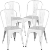 Cheap Metal Dining Stackable Restaurant Chairs Coffee Eco - Friendly Simple Assembly wholesale