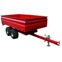 Cheap Tow behind tractor off-road use farm box trailer 1500kgs 3.0TR4W wholesale