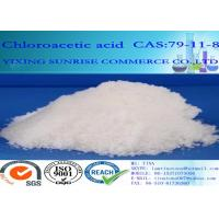 Buy cheap CAS 79-11-8 Chloroacetic Acid Colorless Crystals C2H3CIO2 For Pesticides from wholesalers