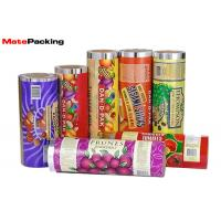 Cheap Custom Flexible Flow Pack Film , Food Grade Laminated Aluminum Foil Film wholesale