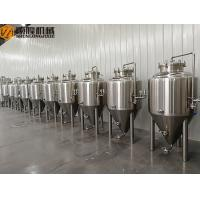 Quality 100L Beer Brewing Equipment , Pilot Brewery SS 304 Home Brewing Equipment for sale