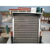 China Automatic rotatory solid - liquid separator bar screen , screening process in water treatment plant on sale
