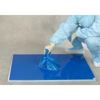 Cheap 30 layers blue floor protection PE laboratory sticky mat wholesale