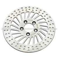 Buy cheap Harley Davidson Sportster Accessories Silver Stainless Steel Rear Brakes Disc from wholesalers