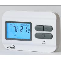 Buy cheap Non-Programmable Digital Heating Room Thermostat with Battery Supply from wholesalers