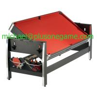 China Manufacturer 84 Swivel Table 3 In 1 Combination Game Table Air Hockey Pool Table Tennis Table on sale