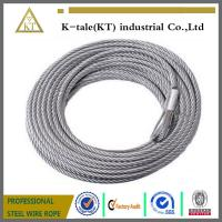 Cheap DIN3055 7x7 2mm galvanized steel wire cable wholesale